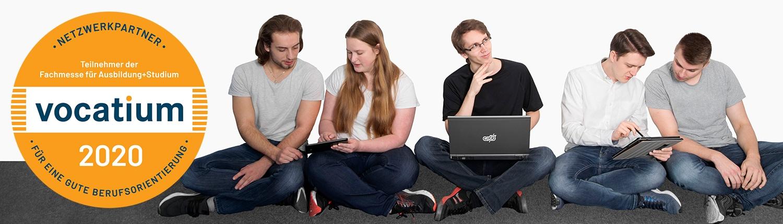 Auszubildende bei CVS in Bremen, Teilnahme bei der Vocatium Fachmesse für Ausbildung und Studium