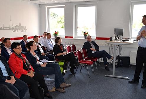Vortrag auf der ALPHAPLAN ERP Hausmesse in Bremen